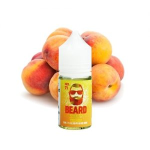 No.71 Sweet & Sour Sugar Peach Salts by Beard Vape Co 30ml in vape Abu Dhabi