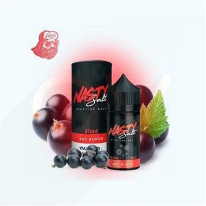 Bad blood - nasty salt - e-liquid 30ml in vape Abu Dhabi