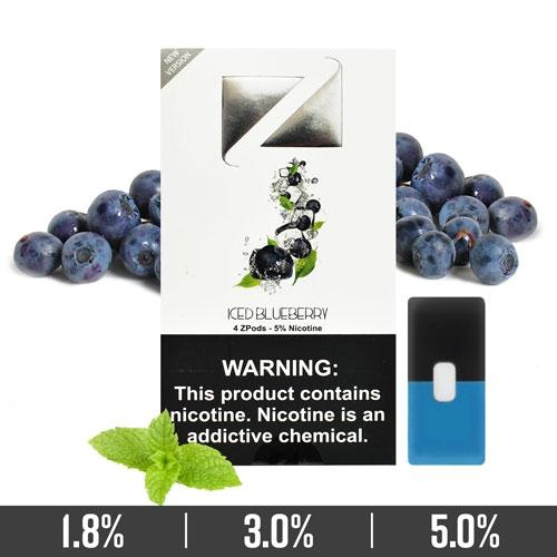 ZiiP Pods Iced Blueberry   JUUL Compatible in vape Abu Dhabi