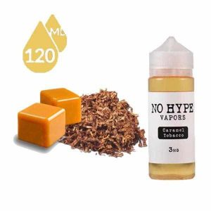 CARAMEL TOBACCO BY NO HYPE VAPOR'S E-JUICE-DUBAI