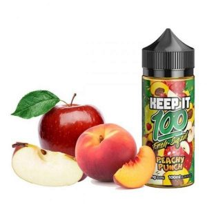 Keep It 100 Peachy Punch Ejuice in Dubai