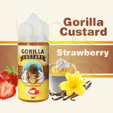 GORILLA CUSTARD STRAWBERRY IN ABU DHABI