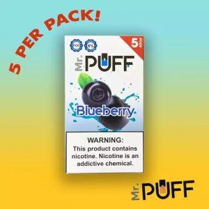Mr puff Juul compatible pods blueberry in Dubai