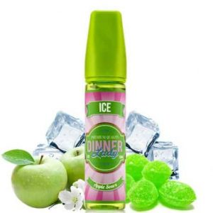 Dinner lady apple sours ice 60ml e liquid 1pcs in Dubai