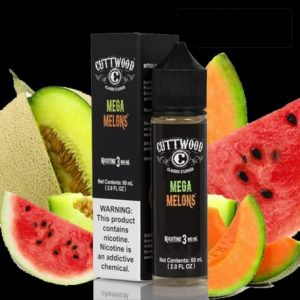 Cuttwood mega melons 60ml e-liquid in Dubai/UAE